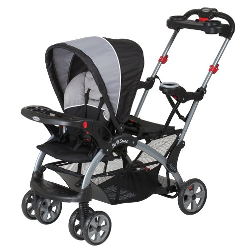 Triple Stroller With Infant Seat - 1