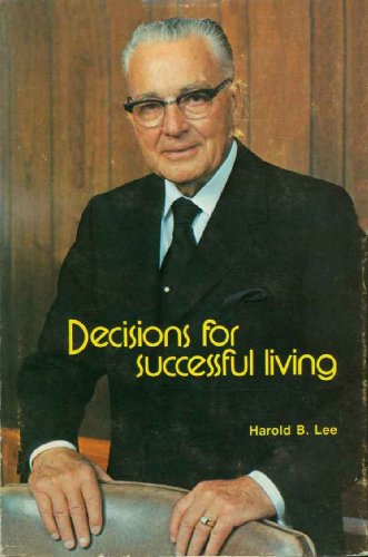 Decisions for Successful Living