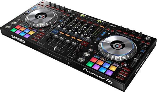 Pioneer DDJ-SZ2 Flagship 4-Channel Controller for Serato DJ Bundle with Stand, Headphones, and Austin Bazaar Polishing Cloth