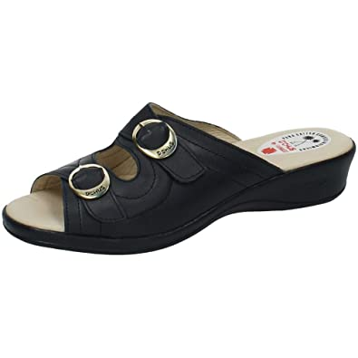 Made In Spain Damen Clogs & Pantoletten, Blau - Blau - Größe: 40