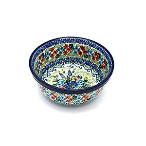 Polish Pottery Bowl – Soup and Salad – Unikat Signature – U4695