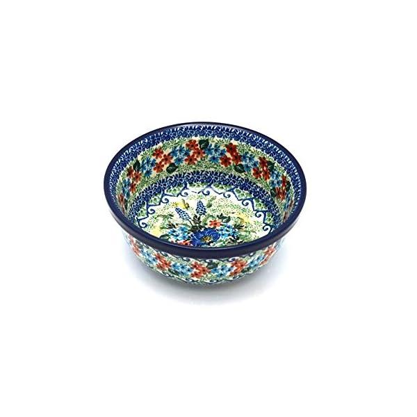 Polish Pottery Bowl – Soup and Salad – Unikat Signature – U4695