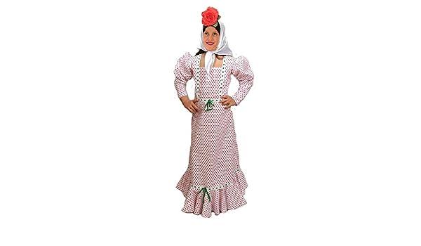 EL CARNAVAL Disfraz chulapa niña Talla de 2 a 4 años: Amazon ...