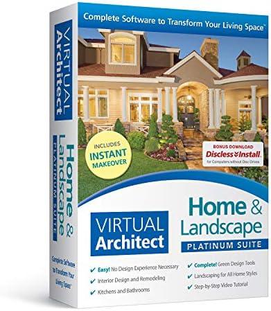 Amazon Com Virtual Architect Home Landscape Platinum Suite Software