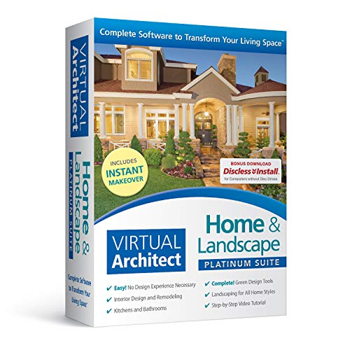 Virtual Architect Home & Landscape Platinum Suite
