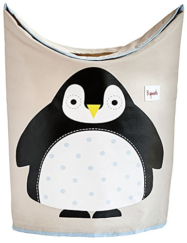 3-Sprouts-Laundry-Hamper-Black-Penguin