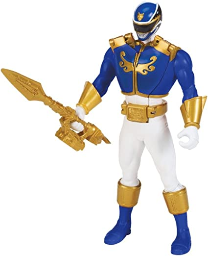 Power Rangers Megaforce Blue Ranger Action Figure