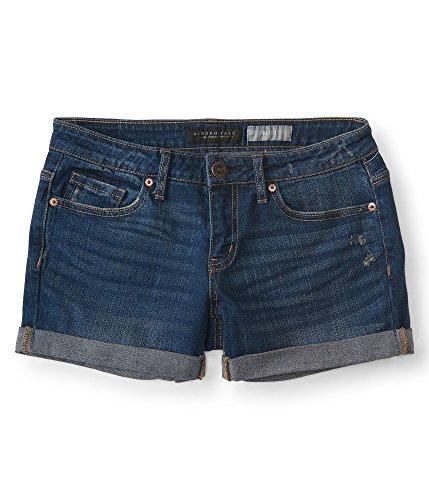 Aeropostale Womens Medium Cuffed Shorts