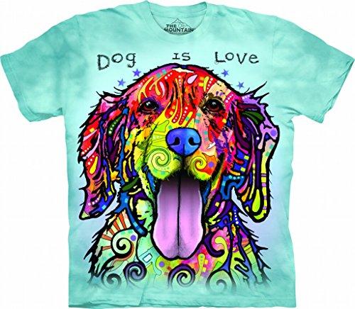 Love Adult Light Blue T-shirt XXL ()