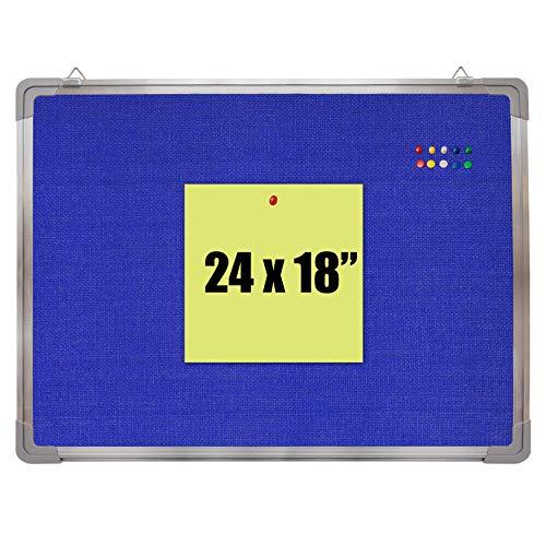 Bulletin Board Set - Felt Tack Board 24 x 18