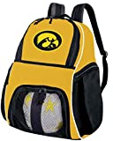 Broad Bay University of Iowa Soccer Ball Backpack or Volleyball Backpack - Practice or Travel