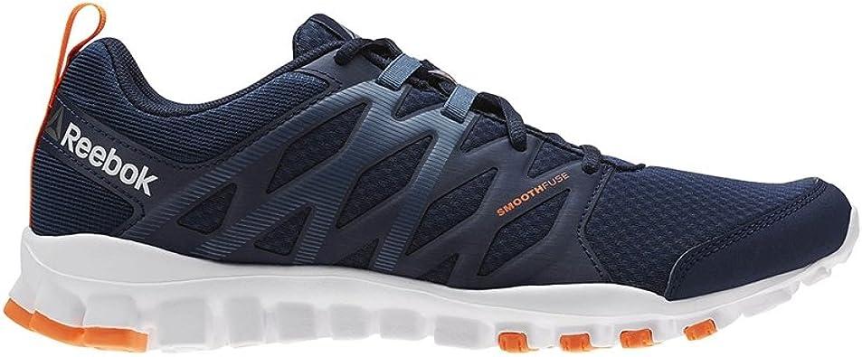 Reebok Realflex Train 4 Homme Chaussures Training, bleu