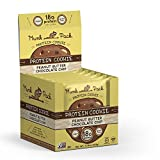 Munk Pack - Peanut Butter Chocolate Chip - Protein Cookie - 6 Pack - 18g Protein, Vegan, Gluten-Free, Soft Baked - 2.96oz