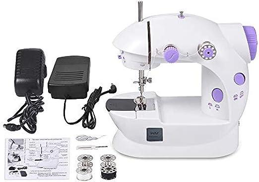 Máquina de coser portable, de mano del mini máquina de coser de ...
