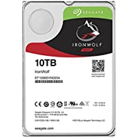 Seagate 10TB IronWolf Pro 7200RPM SATA 6Gb/s 256MB Cache 3.5-Inch NAS Hard Disk Drive (ST10000NE0004) (Certified Refurbished)
