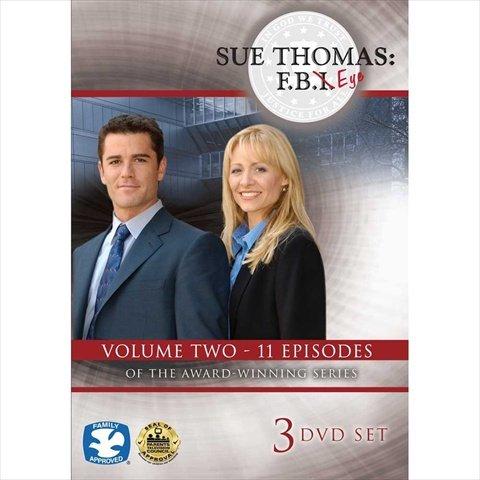 Harris Communications DVD436 Sue Thomas - F.B.Eye Volume 2 3-DVD Set