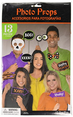 Amscan Halloween Photo Booth Prop Kit - 1 kit for $<!--$3.37-->