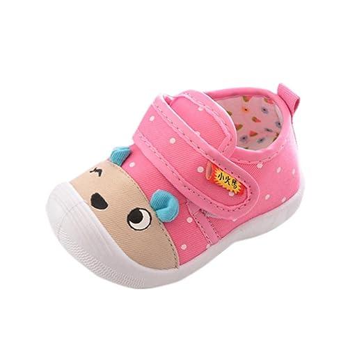 Malloom Infantil bebés niños niñas Unisex Dibujos Animados Osos Antideslizante Zapatos Suela Suave Sneakers zapatillas (