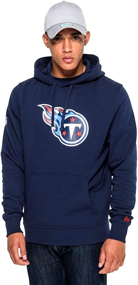 New Era Hoody - NFL Tennessee Titans Navy Obsadian