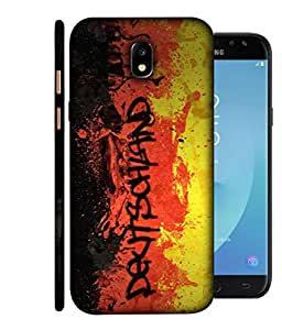 ColorKing Football Germany 05 Multi Color shell case cover for Samsung J7 Pro 2017