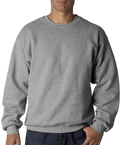 FOL Mens 12 oz. 70/30 Fleece Crew (82300) -ATHLETIC H (Fruits Of The Loom Sweater)