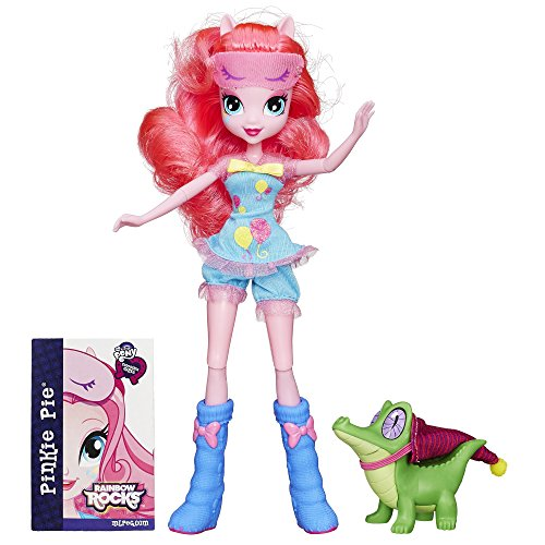 (My Little Pony Equestria Girls Rainbow Rocks Pinkie Pie and Gummy Snap)