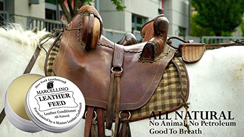 Leather Feed Conditioner | ALL NATURAL | No Animal By-Products | Non-Toxic Care | Marcellino NY | 4oz by Marcellino NY Leathercraft (Image #6)