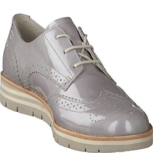 95 Claro Para Gris grey Gabor Cordones 42 Mujer De Zapatos 558 801 Fzw6qEp
