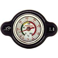 Outlaw Racing High-Pressure Temperature Gauge Radiator...