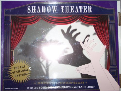 Price comparison product image Shadow Theater: Entertain Your Friends in the Dark Includes: Book,  Scenery,  Props,  and Flashlight