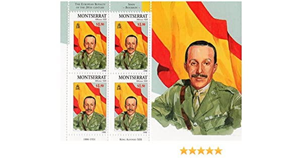 Stampbank La realeza Europea del Siglo 20 con España borbónica ...