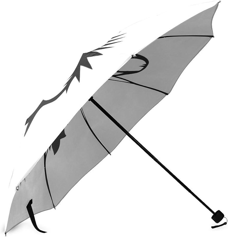 Folding Umbrella Rainproof /& Windproof Umbrella Fuck You Custom Umbrella