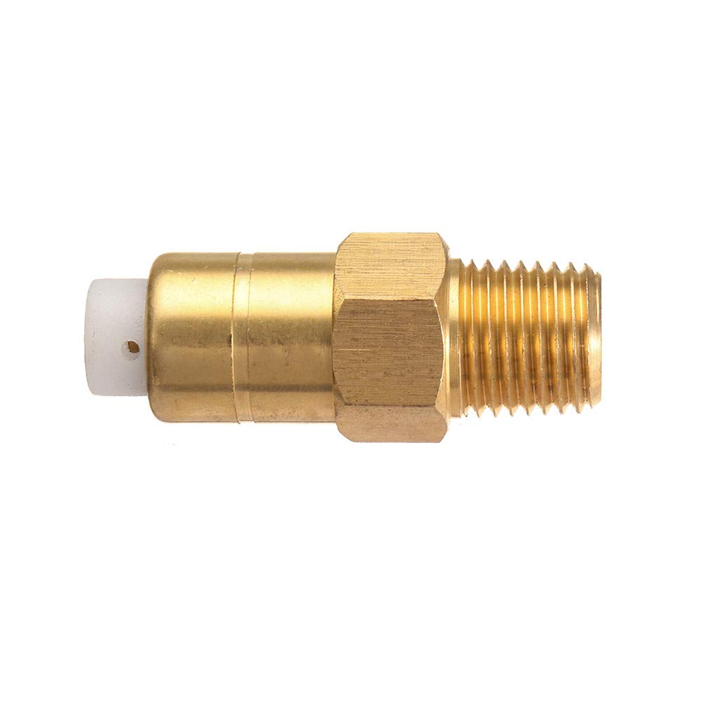 CocinaCo 1//4 Inch Thermal Release Safety Relief Brass Valve for Pressure Washer Water Pump