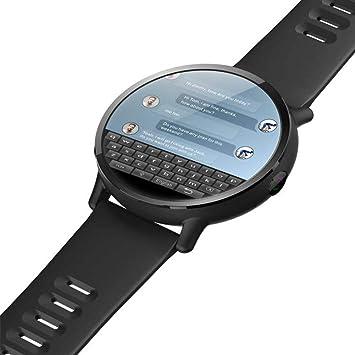 fiveschoice Reloj Deporte LEMFO LEM X Android 7.1 4G 2.03 Pulgadas 900Mah 5MP cámara Ip67 Reloj Inteligente de Lujo a Prueba de Agua GPS Smartwatch para ...