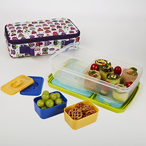 kids bento lunch kit