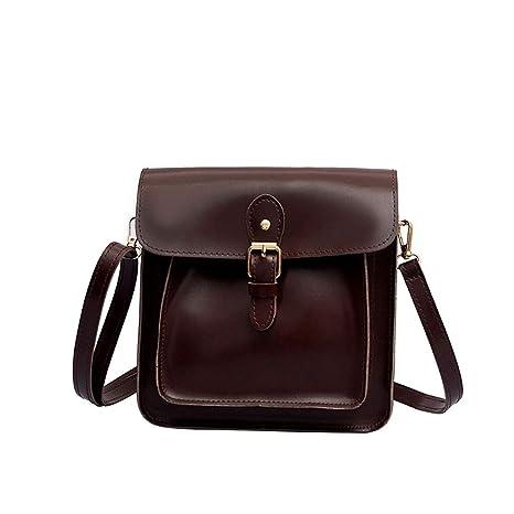 Damen Schultertasche Handtasche PU Kunstleder Reisetasche Schulrucksack Rucksack