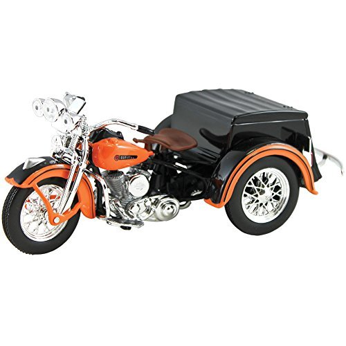 Collectible 1947 Harley Davidson Servi-Car 1:18 Scale Motorcycle Die Cast