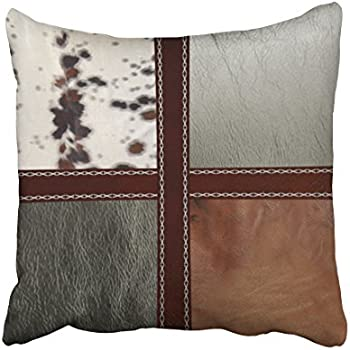 Amazon Decorpillows Tooled Western Turquoise Leather Look Throw Fascinating Western Style Decorative Pillows