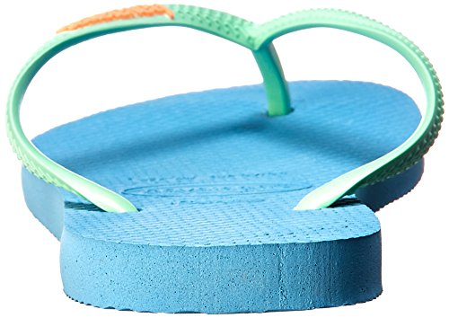 Flip 35 Flip BR Havaianas 6 US Splash M B Sandals Rose Orchid 5 Women's Blue Tropical Slim wCIIHxpTq