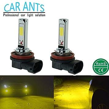 Car Ants iluminación automáticamuy Bombillas LED para faros antiniebla de coches,30W,1400lm,H1 H3 H4 H7 ...