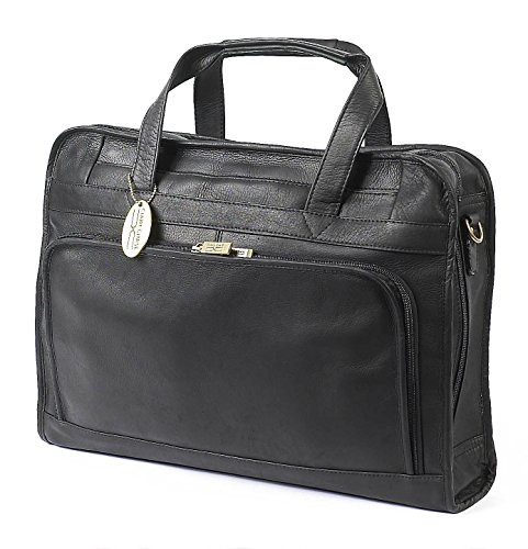Claire Chase Professional Computer Briefcase, Black, One Size by ClaireChase