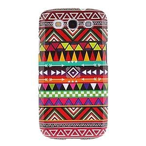 GDW Teléfono Móvil Samsung - Cobertor Posterior - Gráfico - para Samsung S3 I9300 ( Multi-color , Plástico )