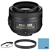 : Nikon AF-S DX NIKKOR 35mm f/1.8G Lens with Auto Focus for Nikon DSLR Cameras