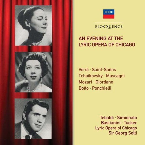 Evening at the Lyric Opera of Chicago