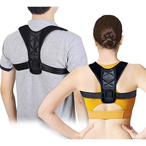 réglable Medical Correcteur de posture épaule Dos Lisseur Humpback Orthèse  pour le dos ceintures de soutien 3b52fb371b0