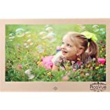 PicaVue Ultra Slim 15 Inches Digital Photo Frame High Resolution with Motion Sensor, Luxury Gold