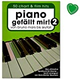 Piano likes me volume 2 (adhesive binding) - from Bruno Mars to Skyfall - ultimate playbook for piano with colourful heart-shaped notes clip - arranged by Hans-Günter Heumann