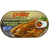 MW Polar Herring, Smoked/Peppered, 7.05-Ounce
