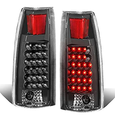 DNA TL-C10-LED-BK-CL Chevy C/K Series Black Clear Lens LED Tail Light