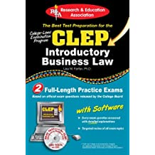 CLEP® Introductory Business Law with CD